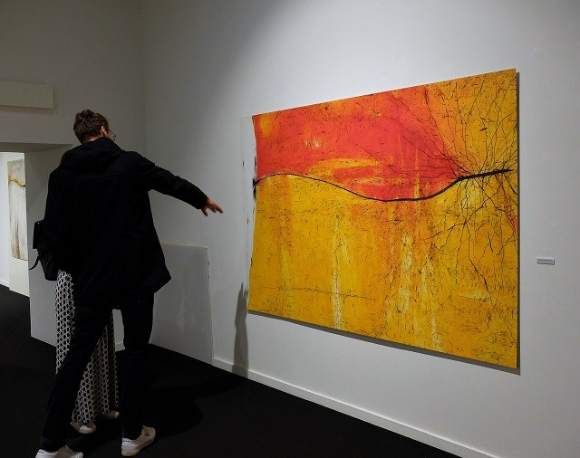 La mostra Exsiccata di Agostino Perrini a Palazzo Martinengo di Brescia, foto di Enrica Recalcati per BsNews.it