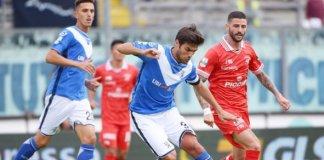 Brescia-Perugia, foto da sito ufficiale Brescia Calcio