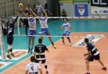 Volley, la Centrale Brescia contro Cantù, foto ufficio stampa
