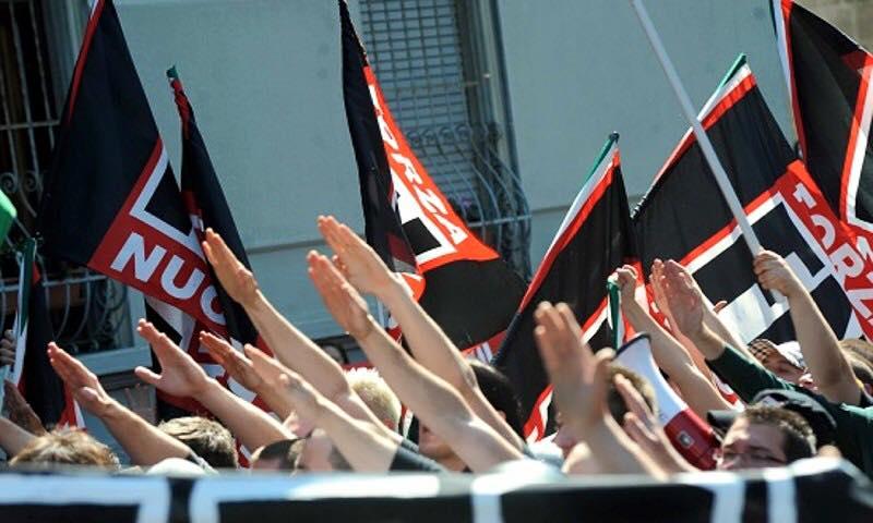 In centro corteo antifascista di Anpi contro la