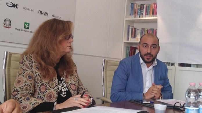 L'assessore Roberta Morelli con l'ad di OkSchool Nicola Orto, www.bsnews.it