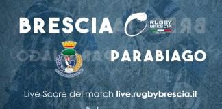 Rugby Brescia - Rugby Parabiago