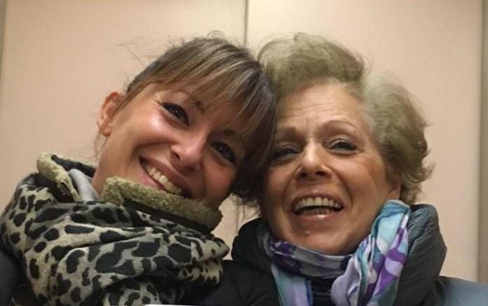 Michela Moretti con la madre Ornella Vicentini