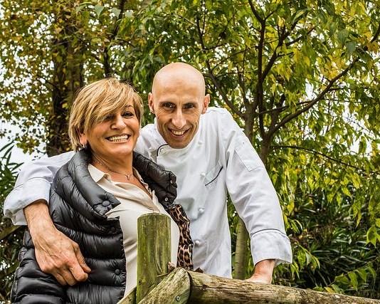 Titolare e cuoco dell'Agriturismo Dalie e Fagioli di Manerba