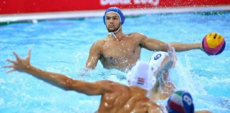 Edoardo Manzi dell'An Brescia pallanuoto