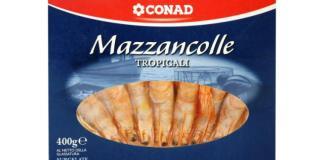 Mazzancolle surgelate, Conad le ritira dai supermercati