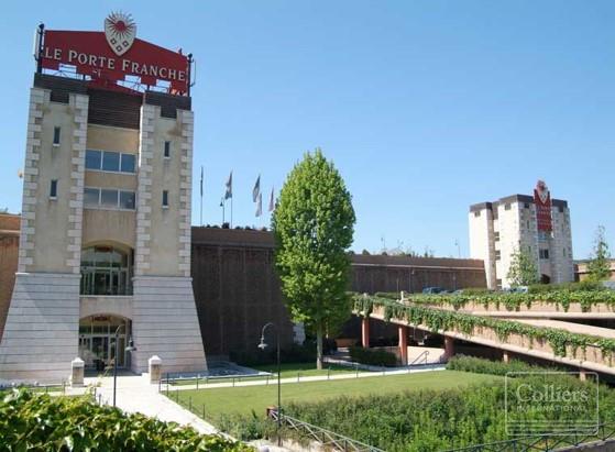 Il centro commerciale Le Porte Franche di Erbusco