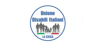 Il logo dell'Unione disabili italiani di Brescia