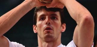 Il cestista Benjamin Ortner, in forza alla Germani Brescia