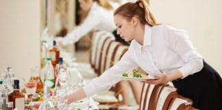 Addette alla ristorazione