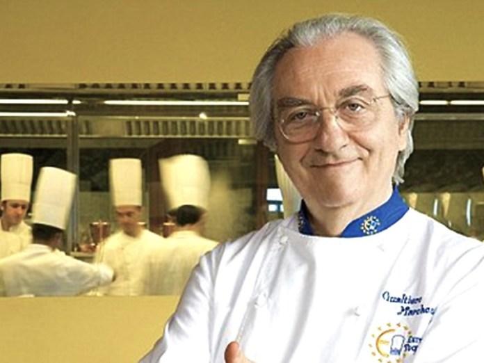 Lo chef Gualtiero Marchesi