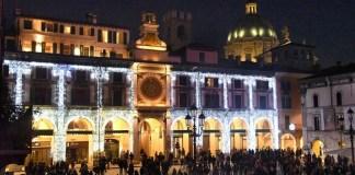 Natale in piazza Loggia a Brescia