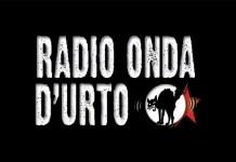 Il logo di radio Onda d'Urto, emittente antagonista di Brescia
