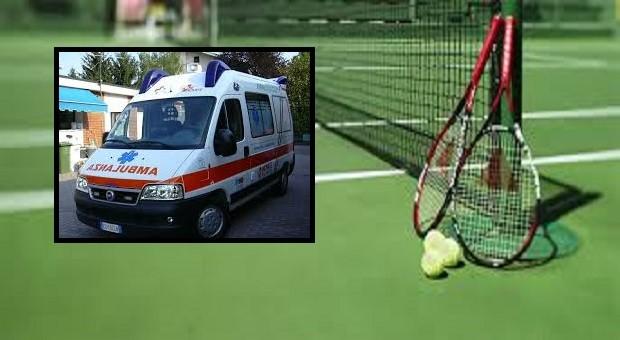 Malore al campo da tennis di Rovato