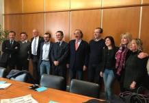 Mattinzoli, Parolini, Rolfi, Fontana, Sala, Borghesi, Bordonali, Beccalossi e Vilardi - foto da profilo Facebook Viviana Beccalossi