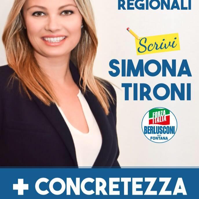 Simona Tironi di Travagliato, candidata in Regione con Forza Italia