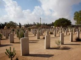 Il cimitero di El Alamein