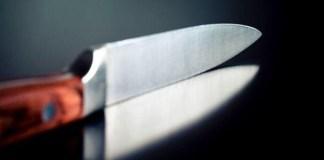 Un coltello da cucina, foto generica dal web