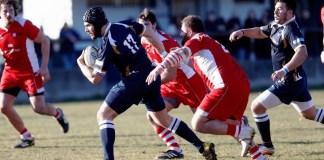 Un'azione di gioco di Brescia contro Vicenza - foto da ufficio stampa