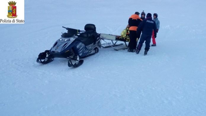 Soccorso sulle piste da sci