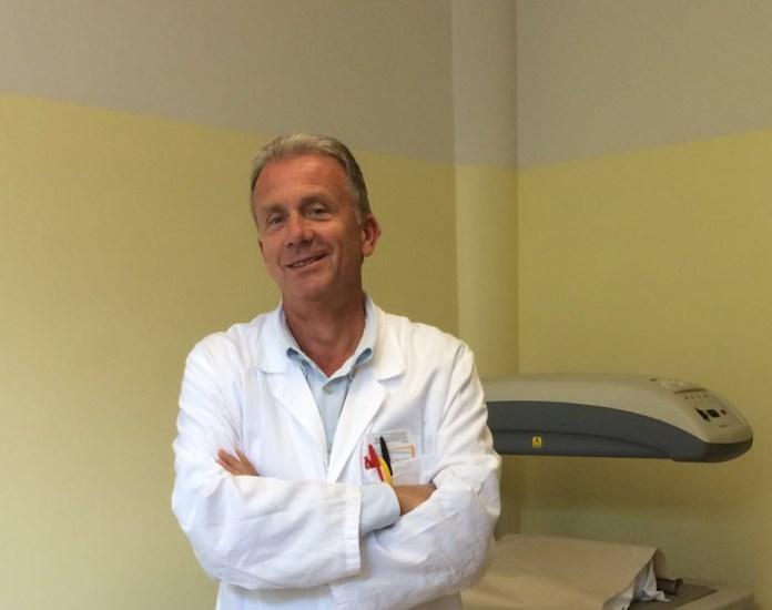 Il nuovo Direttore della Riabilitazione dell'ospedale di Lonato, Dott. Francesco Pezzali