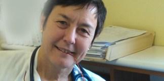 La dottoressa Silvia Polo, direttrice della medicina interna dell'ospedale di Gavardo