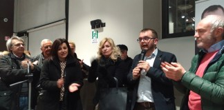 Simona Bordonali, Elena Frascio e Fabio Rolfi (Lega)