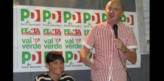 Pietro Bisinella con Debora Serracchiani