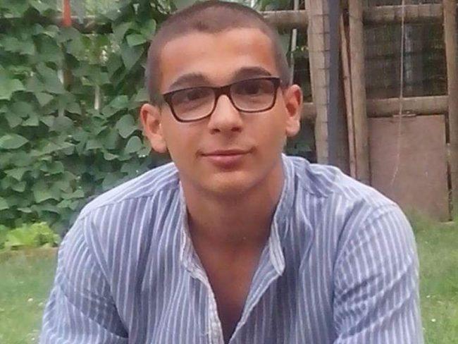 Il 19enne Braian Morandi, morto in un tragico incidente in galleria
