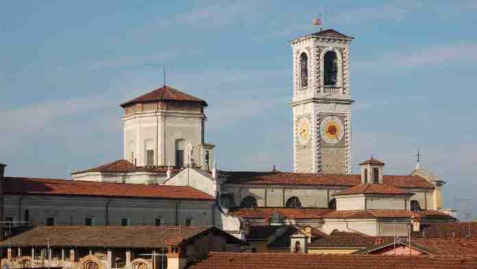 La torre civica di Chiari, in provincia di Brescia