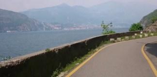 La pista ciclabile Vello-Toline sul Lago d'Iseo