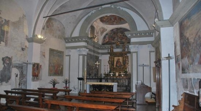 La chiesa di Santa Maria del Mercato a Iseo