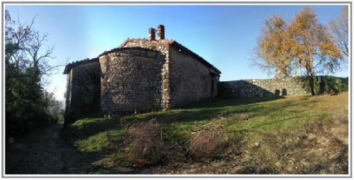 La chiesetta di san Michele sul Monte Orfano, a Rovato