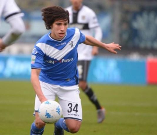 Sandro Tonali, giovane promessa del Brescia Calcio convocato in Nazionale