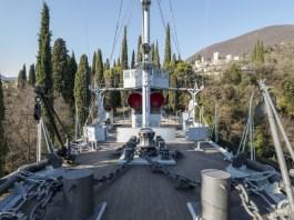 Vittoriale degli Italiani di Gardone Riviera, la nave Puglia
