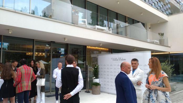 La festa d'inaugurazione del nuovo ristorante La terrazza segreta al Villa Eden Luxury Resort di Gardone Riviera, foto Andrea Tortelli per BsNews.it