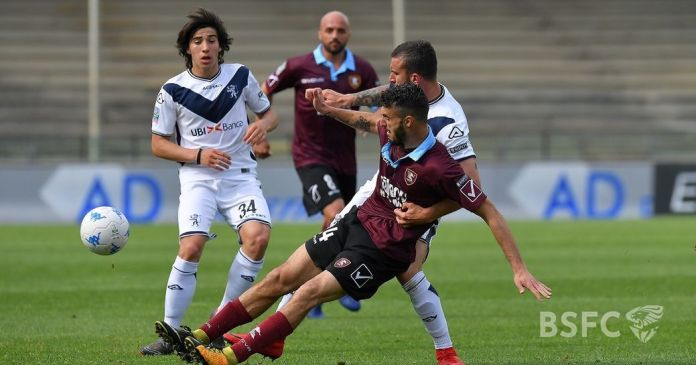 Brescia Salernitana, foto da sito ufficiale Brescia Calcio