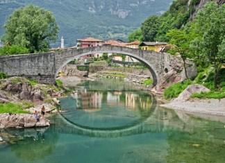 Il ponte di Montecchio, a Darfo Boario Terme