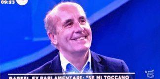 L'ex deputato bresciano Eugenio Baresi