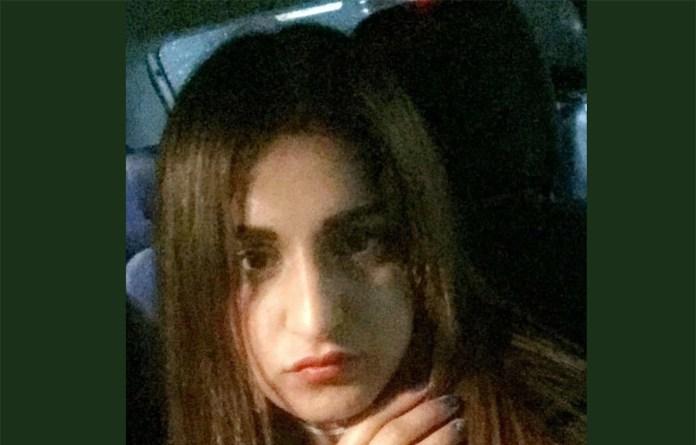 Sana Cheema, in una foto da Instagram
