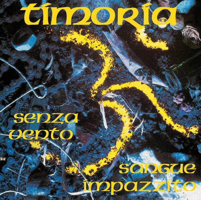 La copertina del nuovo vinile in edizione speciale dei Timoria, foto da Twitter Omar Pedrini
