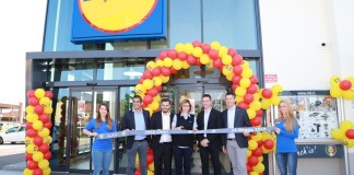 L'inaugurazione del nuovo supermercato Lidl di Chiari