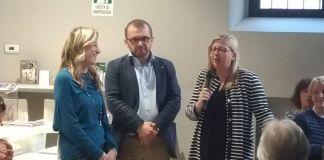 Melania Gastaldi, Fabio Rolfi e Carla Boroni, foto at
