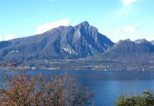 La cresta sud del Monte Pizzocolo, sul lago di Garda