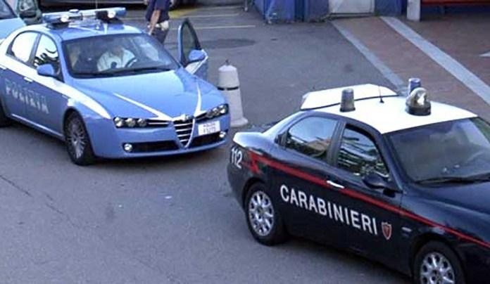 Polizia e Carabinieri in azione a Brescia