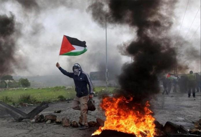 Scontri in Palestina