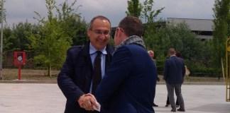 Il presidente di Centro Padane, Fabrizio Scuri