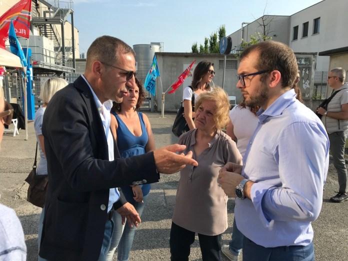 Rolfi incontra i lavoratori bresciani della Medtronic Invatec