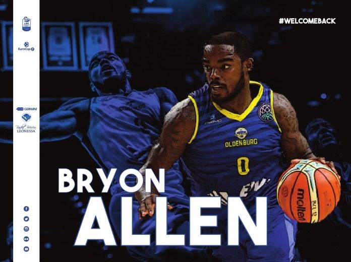 bryon allen - Foto da ufficio stampa Germani Basket Brescia