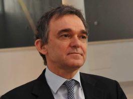 Il presidente della Regione Toscana Enrico Rossi a Brescia